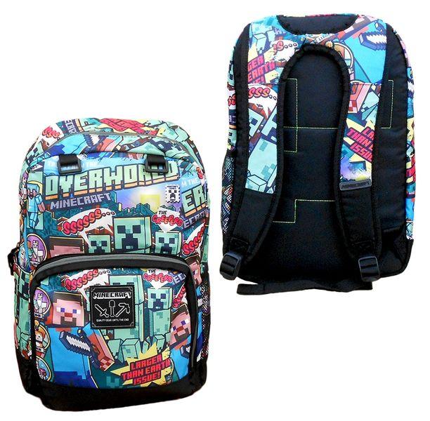 09e43e695fb2d Plecak Szkolny dla Dzieci Minecraft zdjęcie 1 ...