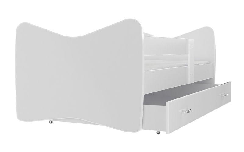 Łóżko TOMI COLOR 140x70 szuflada + materac zdjęcie 4