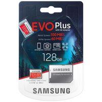 Samsung microSDXC Evo+ - Karta pamięci 128 GB z adapterem