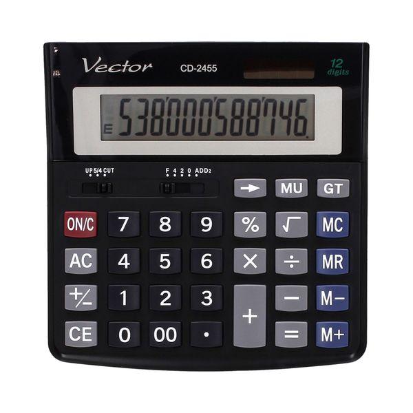 Kalkulator 12pozycyjny CD2455 Vector zdjęcie 1