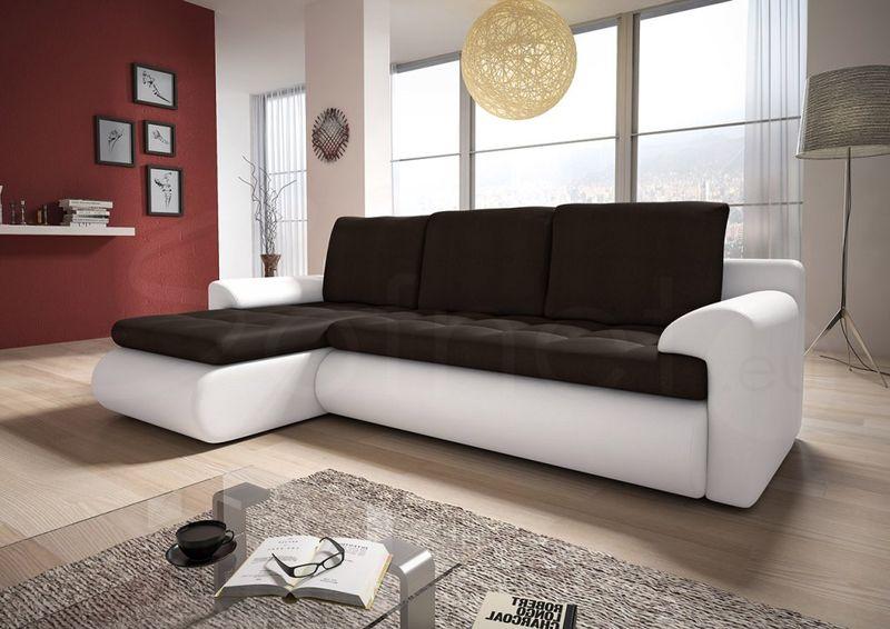 Narożnik Santi II w materiale zmywalnym - kanapa, sofa, łóżko, rogówka zdjęcie 2