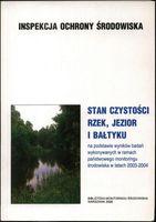Stan czystości rzek, jezior i Bałtyku praca zbiorowa