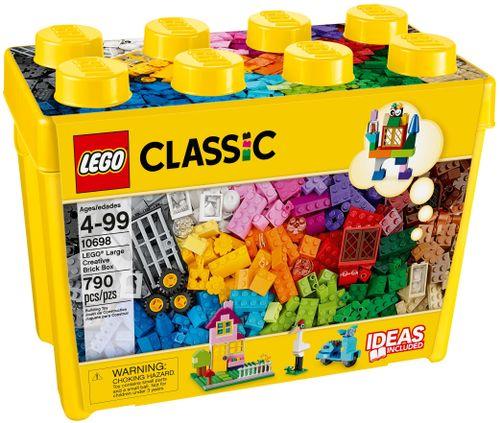 LEGO CLASSIC 10698 Kreatywne Klocki - Duże Pudełko na Arena.pl