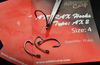 AC Haczyki karpiowe Antrax AX 2 size 4 - Adder Carp