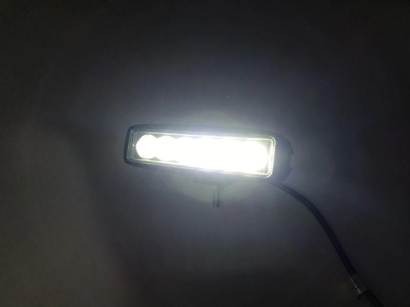 LAMPA ROBOCZA 6 LED HALOGEN PASEK LIGHTBAR 12V 24V na Arena.pl