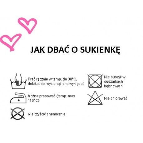 5e2d1ac4d3 Sukienka WIKI - koronkowa Midi - łosoś Rozmiar - M • Arena.pl