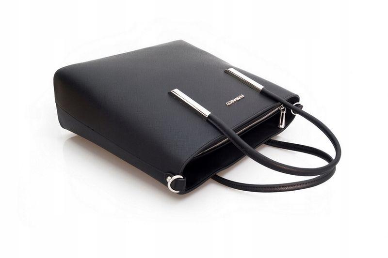 FLORA&CO torebka sztywna V289 XL grafitowa zdjęcie 7