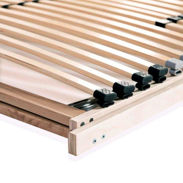 Stelaż Do łóżka Z 28 Listwami Drewno Fsc 7 Stref 100x200 Cm Gxp 680211