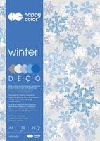 BLOK DECO HAPPY COLOR A4/20 170G WINTER