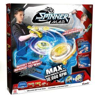 Spinner MAD wyrzutnia spinnerów + Arena DELUXE BATTLE PACK