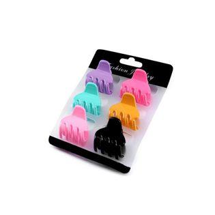 Zestaw mini klamerek do włosów 6 sztuk  - 3 cm