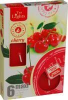 Duże podgrzewacze Tealight Maxi a'6 Cherry