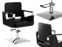Fotel fryzjerski czarny Physa Bristol Black
