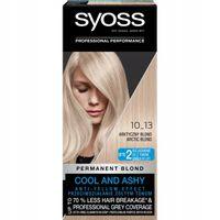 Syoss Permanent Blond Farba Do Włosów Trwale Koloryzująca 10_13 Arktyczny Blond