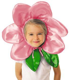 """Czapka """"Kwiatek"""" - różowy"""