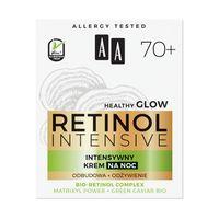 Aa Retinol Intensive 70+ Intensywny Krem Na Noc Odbudowa+Odżywienie 50Ml