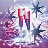 SERWETKI szampańska zabawa NOWY ROK sylwester x20