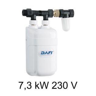 Podgrzewacz wody DAFI 7,3 kW 230 V z przyłączem