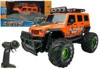 Auto Zdalnie Sterowane R/C Jeep Pomarańczowy 2.4G