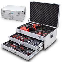 16050 Profesjonalny zestaw narzędzi w walizce 206 elementów BITUXX