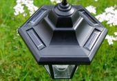 Lampa solarna w kształcie latarni LED, wysokość 70 cm zdjęcie 2