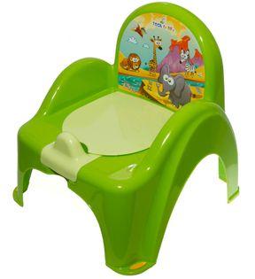 TEGA PO-041-125 Nocnik krzesełko z pozytywką SAFARI zielony
