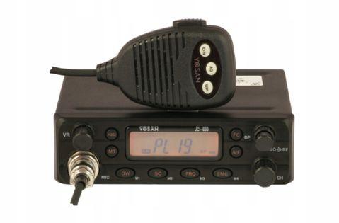 CB Radio Yosan JC 650 AM/FM 4W ASQ RF-Gain