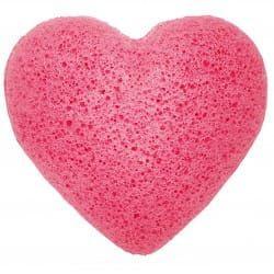 Gąbka Konjac Serce - Różowa