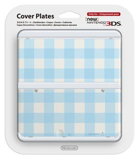 New 3DS Cover Plates (Blue Mix)