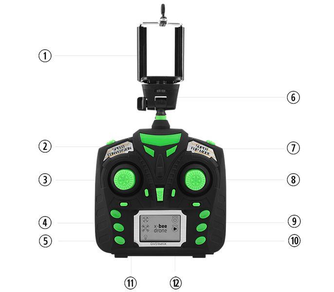 DRON OVERMAX X Bee Drone 3.1 WiFi KAMERA FPV LED zdjęcie 3
