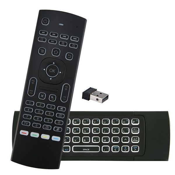 Pilot mx3 mysz powietrzna z podświetleniem do smart tv z mikrofonem 4w1 zdjęcie 8