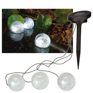 Hi Pływające, Solarne Lampy Kuliste Led Do Stawu, 9 Cm
