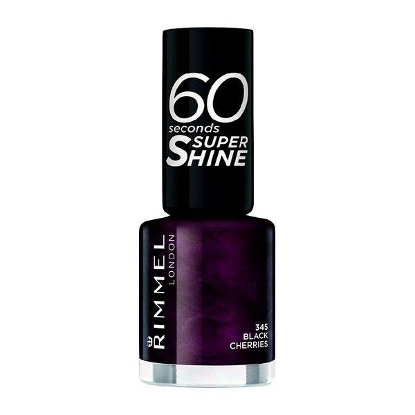 lakier do paznokci 60 Seconds Super Shine Rimmel London 315 - queen of tarts zdjęcie 5