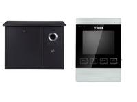 Wideodomofon skrzynką na listy i monitorem S551-SKN / M904S