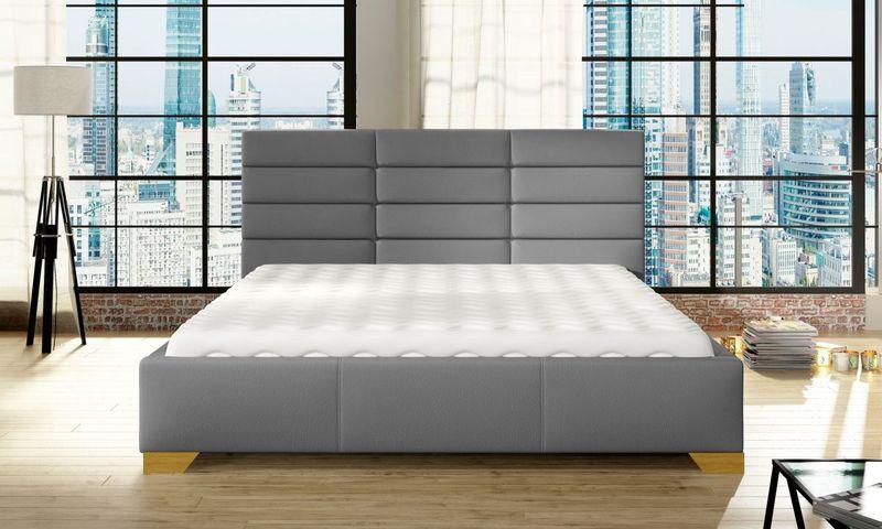 Łóżko Tapicerowane BRUNO 160x200+ Stelaż zdjęcie 2