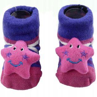 Skarpetki niemowlęce antypoślizgowe ABS bawełniane