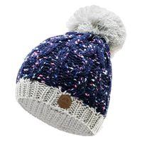 Damska czapka zimowa Elbrus Elisa Wo's biało-granatowa rozmiar uniwersalny