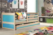 Łóżko RICO dla dzieci pojedyncze dla jednej osoby 190x80 + MATERAC zdjęcie 10