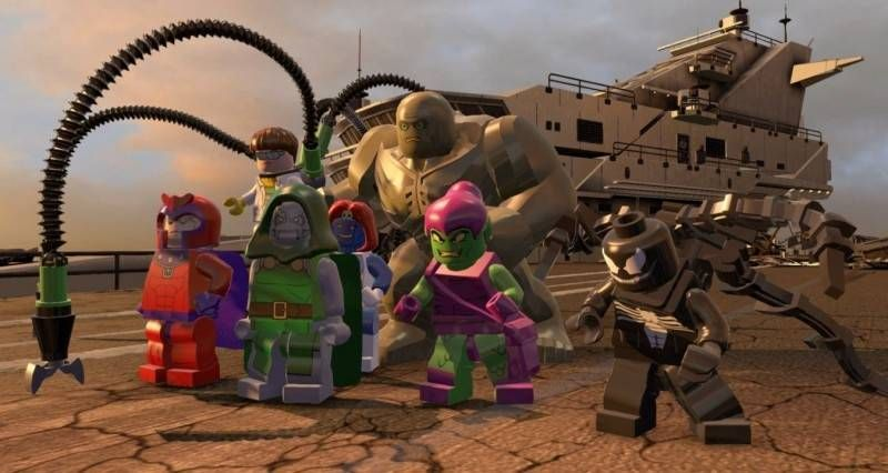 Lego Marvel Super Heroes PL XBOX 360 Nowa zdjęcie 4