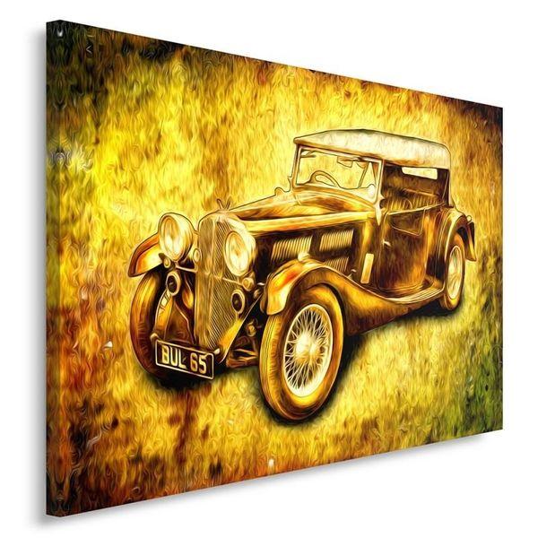 Obraz na płótnie - Canvas, Auto retro 100x70 zdjęcie 2