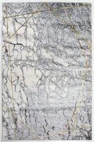 STYLISH PROSTOKaT 07 L.GREY/GOLD 80 X 150 MIX