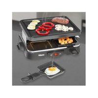Tristar Grill Raclette Dla 4 Osób, 500 W, 22X17,5 Cm, Czarny