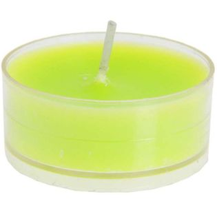 """Świeczka """"Tealight"""", zielona, SANTEX, 4 szt"""