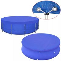 Plandeka na basen, okrągła, PE, 460 cm, 90 g/m²