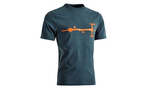 Koszulka CUBE T-Shirt Bike blue/orange rozm. XXL