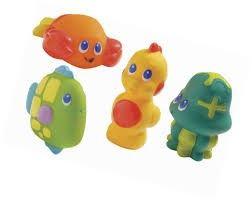 zabawki do tryskania kąpieli
