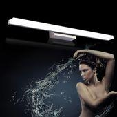 Minimalistyczna lampa nad lustro Kinkiet łazienkowy LED 50 cm 12W zdjęcie 4