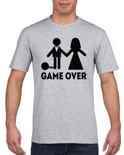 Koszulka męska WIECZóR KAWALERSKI GAME OVER s L