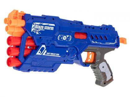 Wyrzutnia pistolet Blaze Storm + 10 strzałek do NERFA