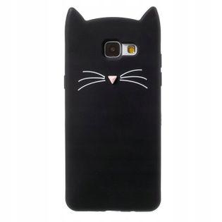 Etui do Samsung S9 Kot 3D Uszy Wąsy Z Uszkami